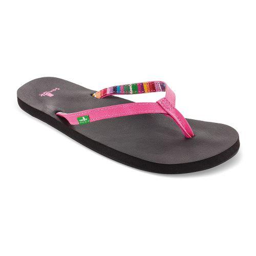 Womens Sanuk Maritime Sandals Shoe - Pink 8