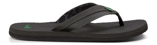 Mens Sanuk Beer Cozy Light Sandals Shoe - Black 7
