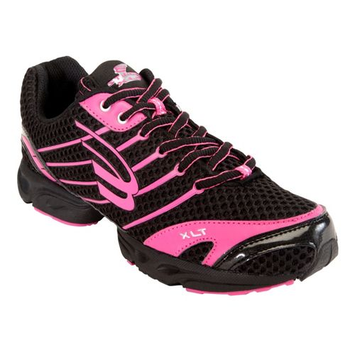 Womens Spira Stinger XLT Running Shoe - Black/Pink 8.5