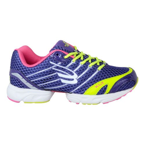 Womens Spira Stinger XLT Running Shoe - Grape/Lime 6.5