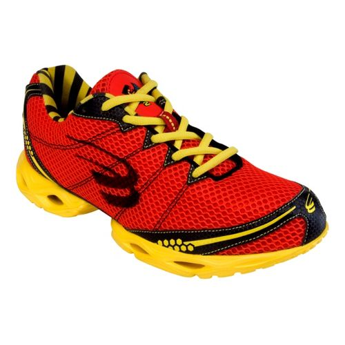 Mens Spira Stinger 2 Running Shoe - Red/Yellow 12.5