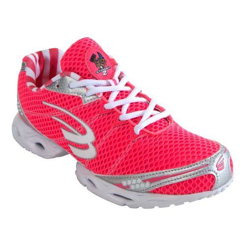 Womens Spira Stinger 2 Running Shoe - Pink/White 7