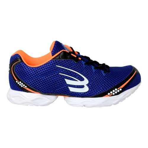 Mens Spira Stinger 3 Running Shoe - Blue/Orange 11.5