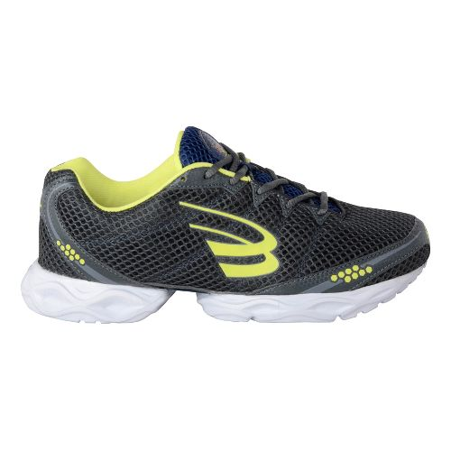 Mens Spira Stinger 3 Running Shoe - Dark Charcoal/Nitro 11.5