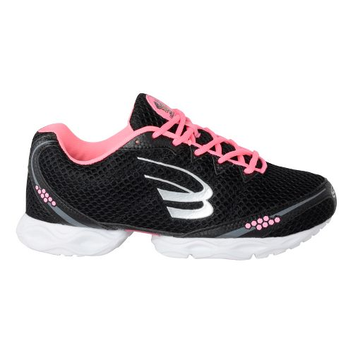 Womens Spira Stinger 3 Running Shoe - Black/Blush 6