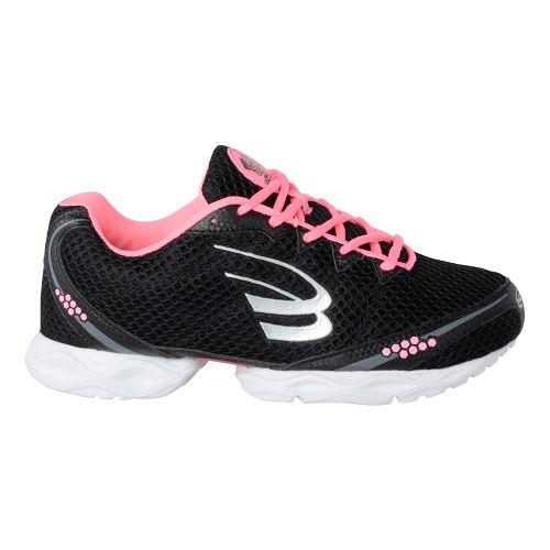 Womens Spira Stinger 3 Running Shoe - Black/Blush 7