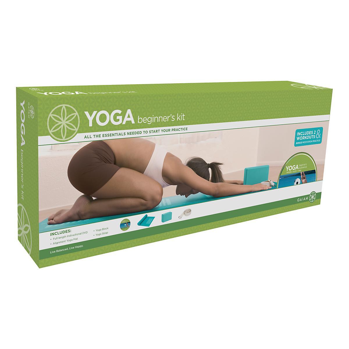 SPRI Yoga Beginners Kit Fitness Equipment At Road Runner