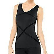Womens Spanx Hourglass Racerback Tanks Technical Tops