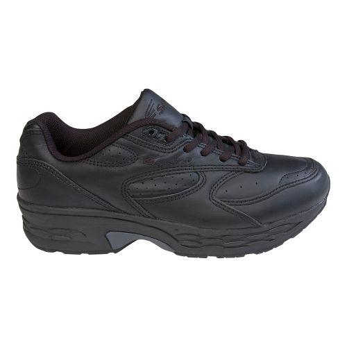 Mens Spira Classic Leather Walking Shoe - Black/Black 10.5
