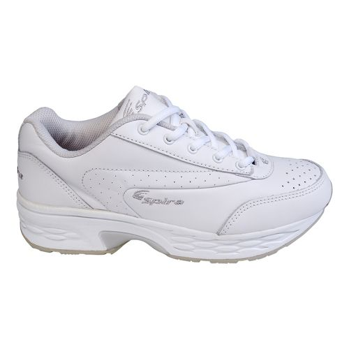 Womens Spira Classic Leather Walking Shoe - White/White 9