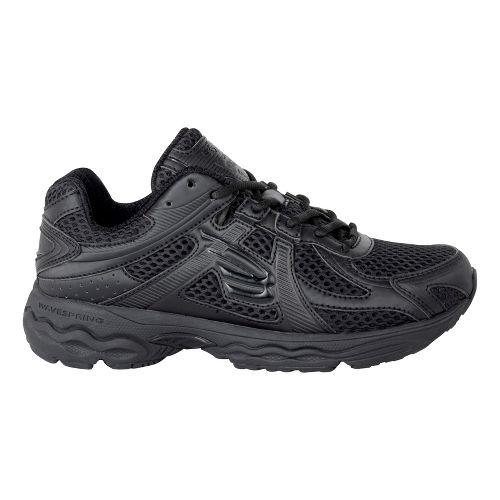 Womens Spira Scorpius Running Shoe - Black 7.5