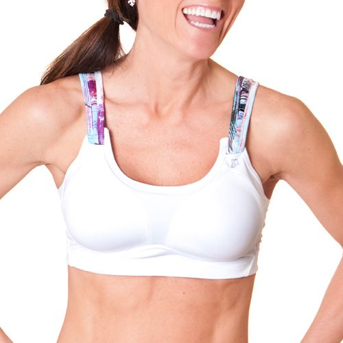 Womens Skirt Sports Kelly C/D Sports Bras - White 34C