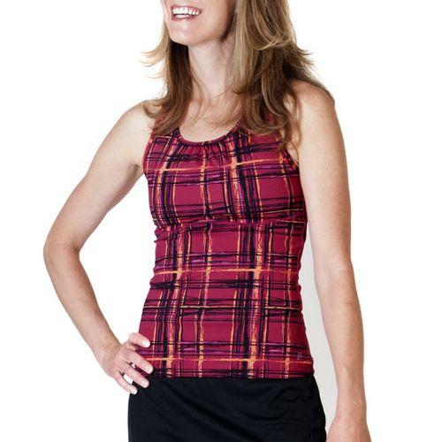 Womens Skirt Sports Wonder Girl Tank Sport Top Bras - Aberdeen Print XS