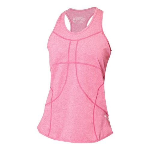Womens Skirt Sports Adventure Girl Tank Technical Tops - Sangria L