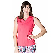 Womens Skirt Sports Free Me Sleeveless and Tank Technical Tops - Cosmo Pink XXL