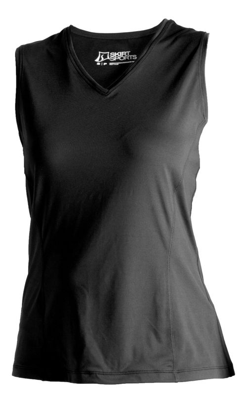 Womens Skirt Sports Free Me Sleeveless and Tank Tops Technical Tops - Black S