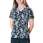 Womens Skirt Sports Free Me Tee Short Sleeve Technical Tops