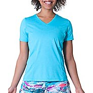 Womens Skirt Sports Easy Ride Top Short Sleeve Technical Tops