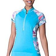 Womens Skirt Sports Free Ride Jersey Short Sleeve Technical Tops