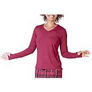 Womens Skirt Sports Free Me Long Sleeve No Zip Technical Tops