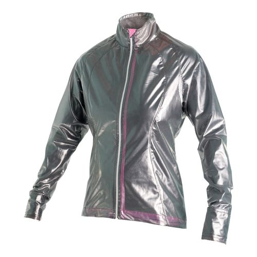 Womens Skirt Sports Skirt Breaker Running Jackets - X-Ray Gray XS