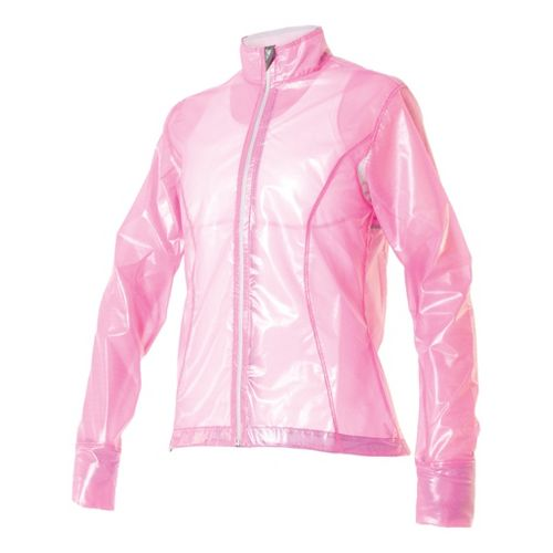 Womens Skirt Sports Skirt Breaker Running Jackets - X-Ray Pink L