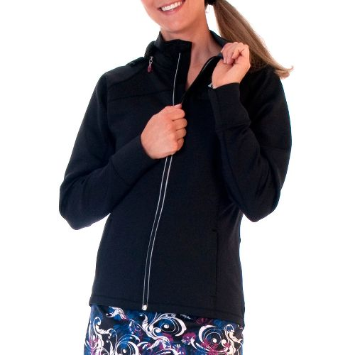 Womens Skirt Sports Ice Queen Ultra Running Jackets - Black XL
