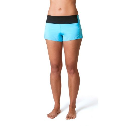 Womens Skirt Sports Redemption Run Lined Shorts - Blue Horizon L