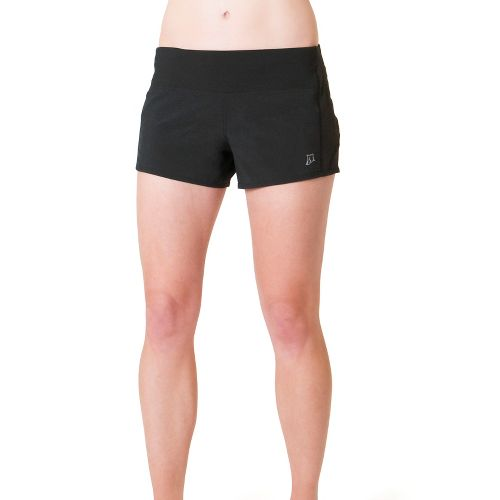 Womens Skirt Sports Redemption Run Lined Shorts - Black L