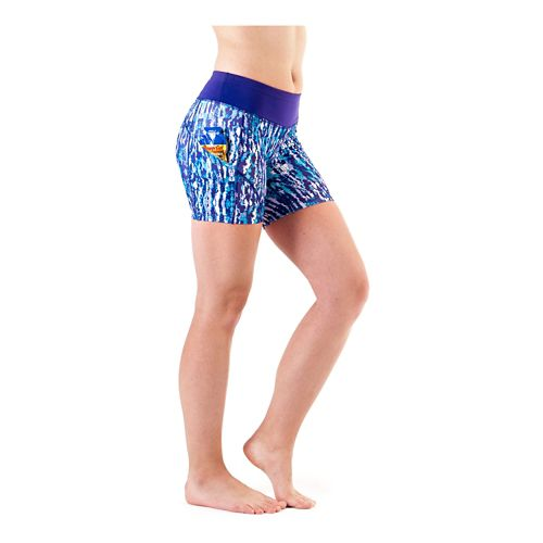 Womens Skirt Sports Redemption Fitness Fitted Shorts - Escape Print XL