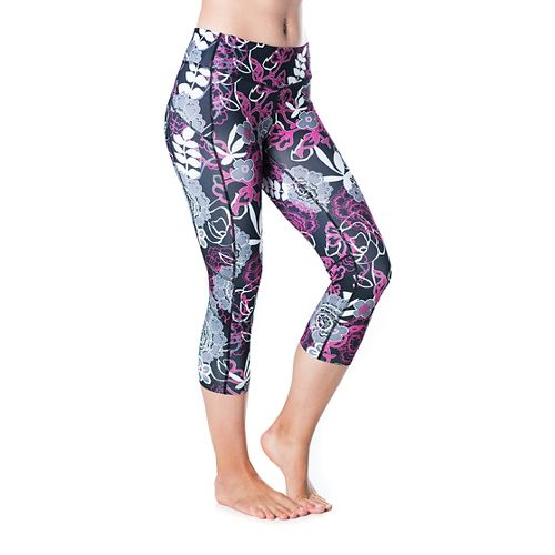 Womens Skirt Sports Redemption Capris Tights - Enchanted Print XL