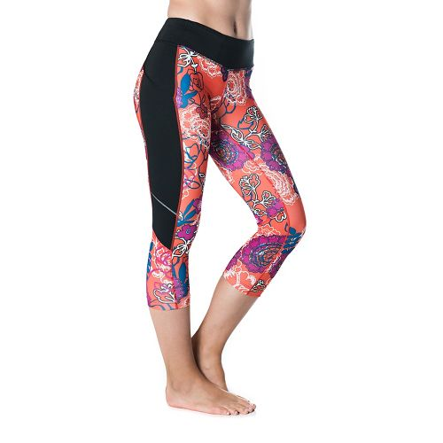 Womens Skirt Sports Redemption Capris Tights - Black/Frolic S