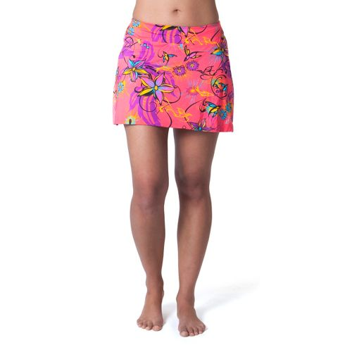 Womens Skirt Sports Marathon Chick Fitness Skirts - Fiesta Print XS