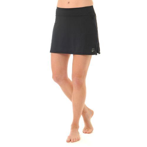 Womens Skirt Sports Gym Girl Ultra Skorts Fitness Skirts - Black XL