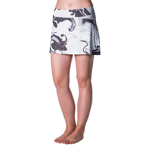 Womens Skirt Sports Gym Girl Ultra Skorts Fitness Skirts - Persevere Print L