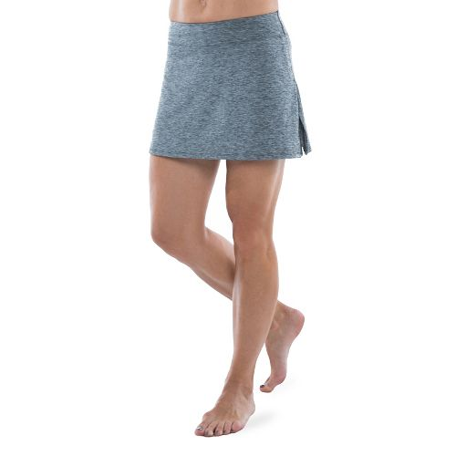 Womens Skirt Sports Gym Girl Ultra Skorts Fitness Skirts - Grey Stardust S