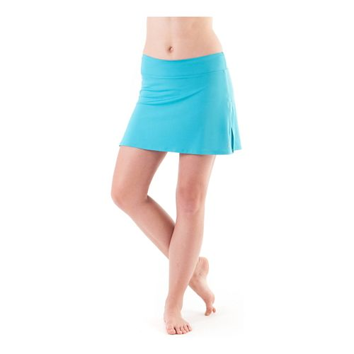 Womens Skirt Sports Gym Girl Ultra Skort Fitness Skirts - Surf L