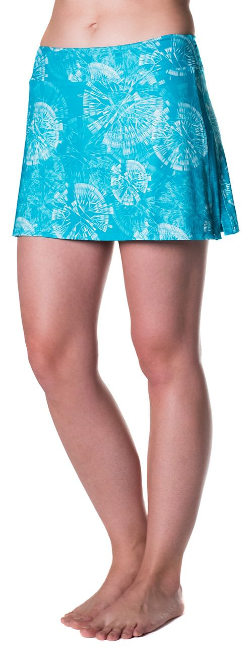 Womens Skirt Sports Gym Girl Ultra Skorts Fitness Skirts - Clarity Print M