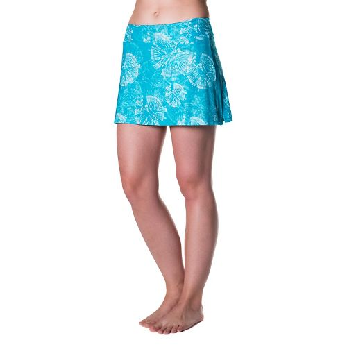 Womens Skirt Sports Gym Girl Ultra Skorts Fitness Skirts - Clarity Print S