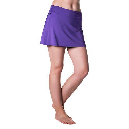 Womens Skirt Sports Gym Girl Ultra Skorts Fitness Skirts - Amethyst L