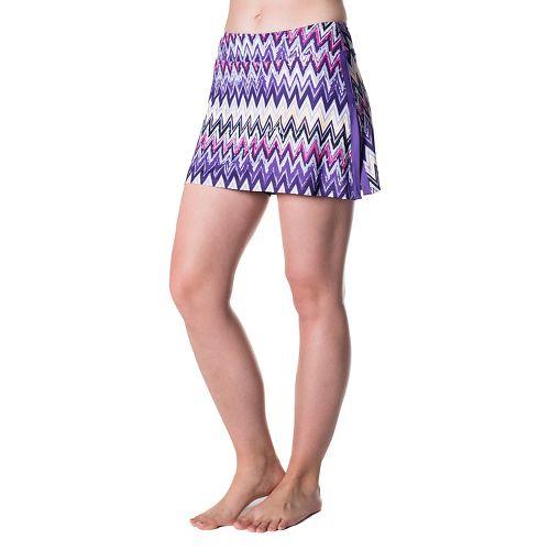 Womens Skirt Sports Gym Girl Ultra Skorts Fitness Skirts - Sidewinder Print XS