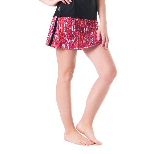 Womens Skirt Sports Gym Girl Ultra Skort Fitness Skirts - Ignite Print XL