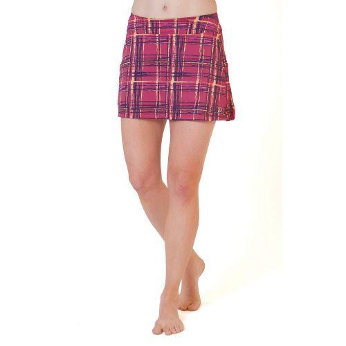 Womens Skirt Sports Gym Girl Ultra Skort Fitness Skirts - Aberdeen Print XXS