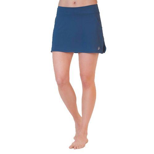 Womens Skirt Sports Gym Girl Ultra Skort Fitness Skirts - Armada Blue XL