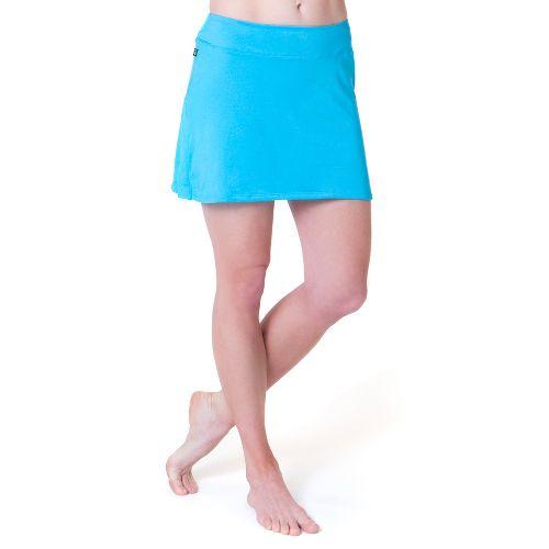 Womens Skirt Sports Gym Girl Ultra Skort Fitness Skirts - Blue Horizon S