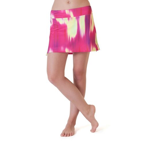 Womens Skirt Sports Gym Girl Ultra Skort Fitness Skirts - Blur Print S