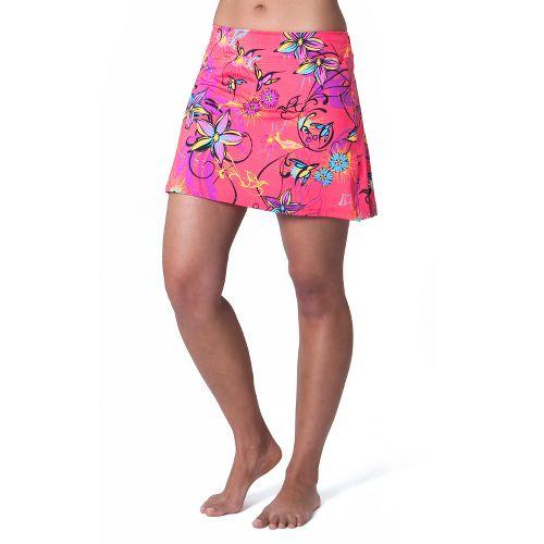 Womens Skirt Sports Gym Girl Ultra Skort Fitness Skirts - Fiesta Print XS