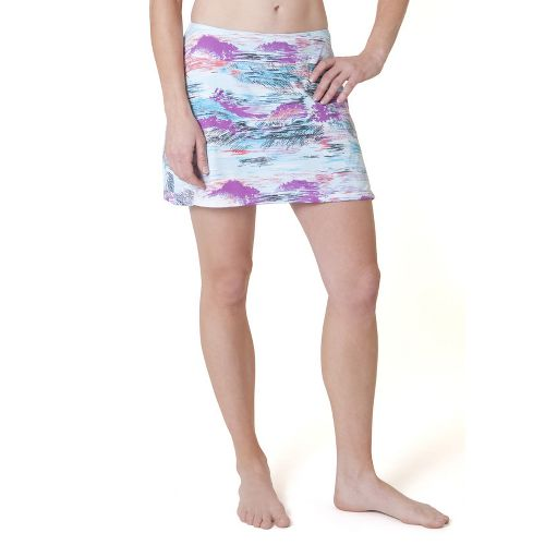 Womens Skirt Sports Gym Girl Ultra Skort Fitness Skirts - Oasis Print XL
