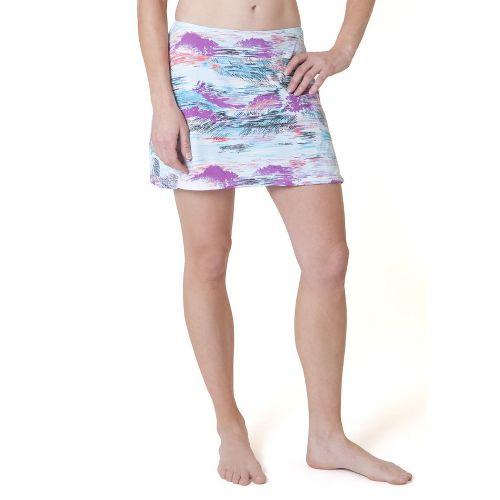 Womens Skirt Sports Gym Girl Ultra Skort Fitness Skirts - Oasis Print XL