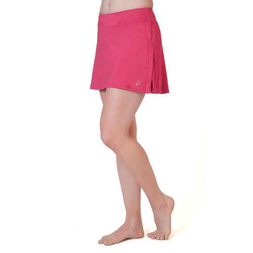 Womens Skirt Sports Gym Girl Ultra Skort Fitness Skirts - Sangria S